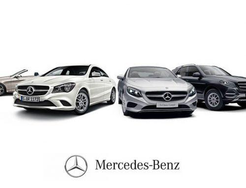 Mercedes Benz'den bir ilk